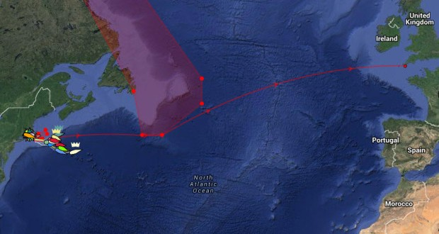 Transatlantic Race: Fleet divided on north and south routes