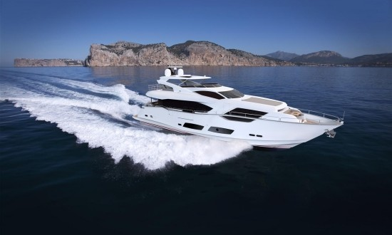 Latest images of the new Sunseeker 95