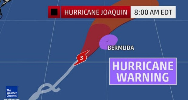 America's Cup venue to get tested by Hurricane Joaquin