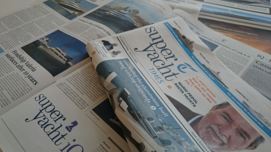 New issue of the SuperYacht Times newspaper published