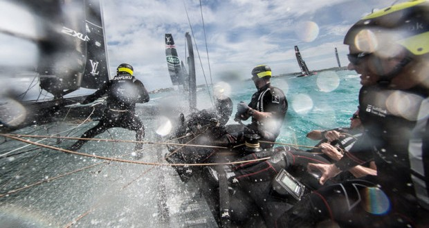 Twenty-Two Japanese Chosen for America's Cup Crew Trials
