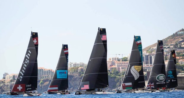Women's Team Launched for Extreme Sailing Series Lisbon