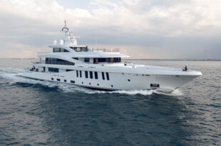 Amels Yacht Moonstone on Sea Trail