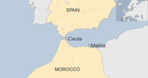 Melilla Spain Map.Tax Update The Canary Islands Ceuta And Melilla Spanish Special
