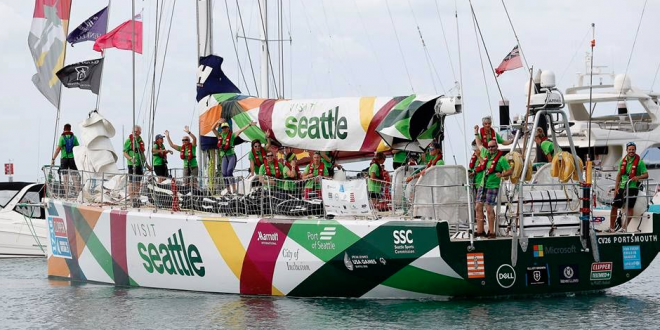 Clipper Race: Visit Seattle Snares Victory