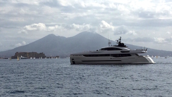 Columbus 40M Sport Hybrid delivered and on her way to Monaco