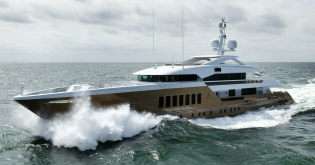 Heesen Yachts delivers 55m Fast Displacement 'Azamanta'