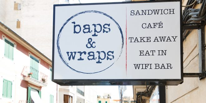 Happy Birthday Baps & Wraps