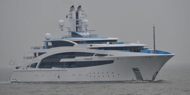 100.80 Metre superyacht I Dynasty delivered