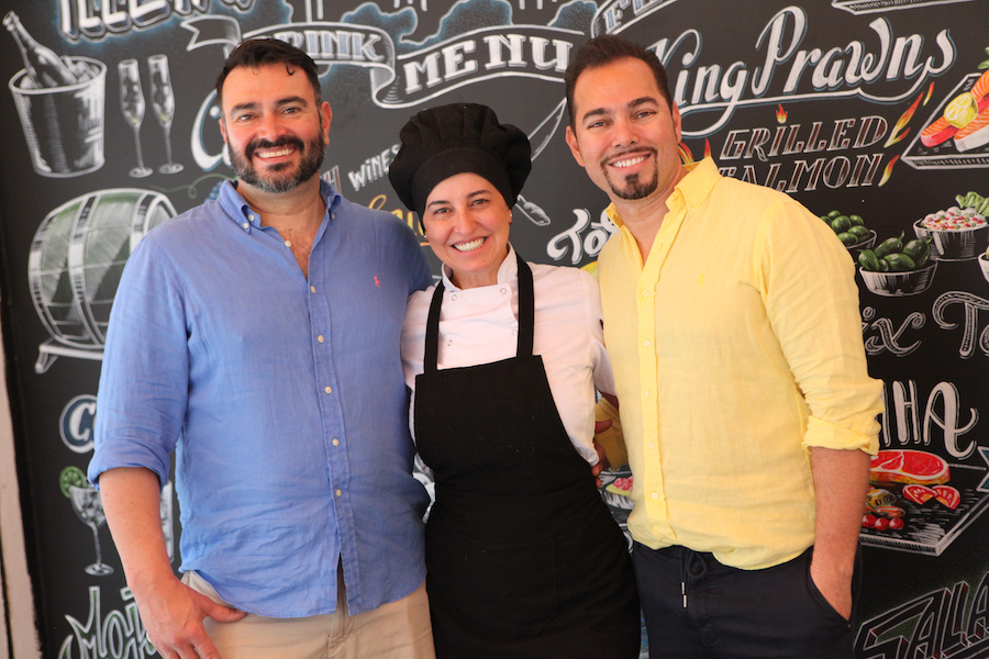 Illets Boulevard owners and chef