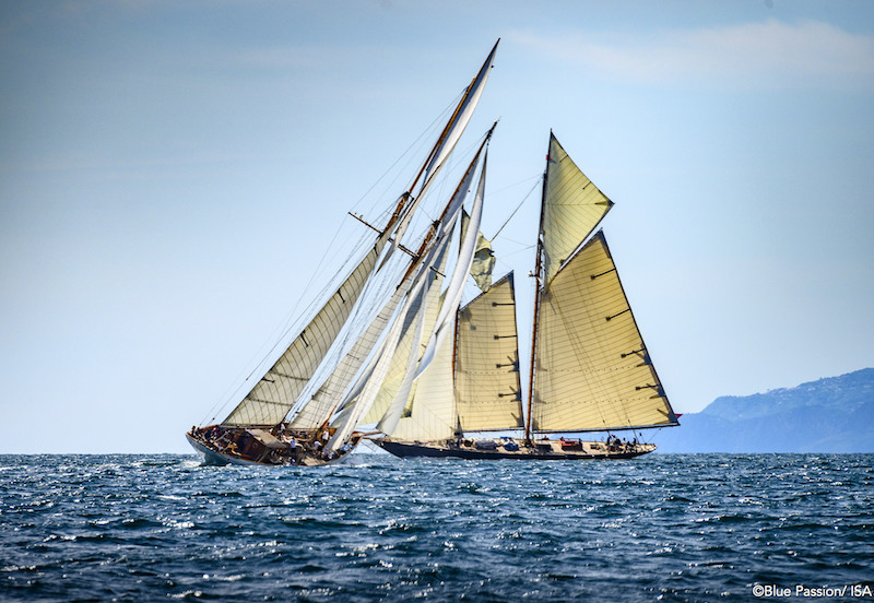 schooners in springtime  u2013 the islander