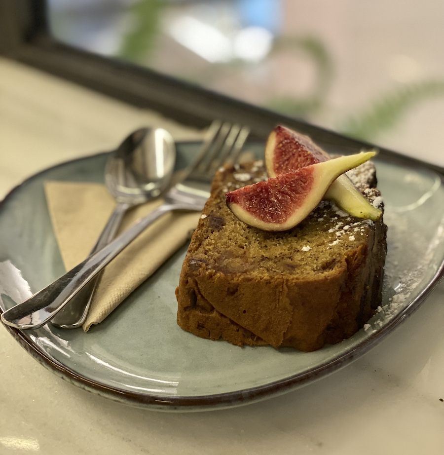 Cake from Mistral Cafe Mallorca