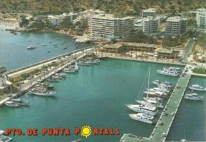 Postcard of Puerto Portals Soon After Opening (2)