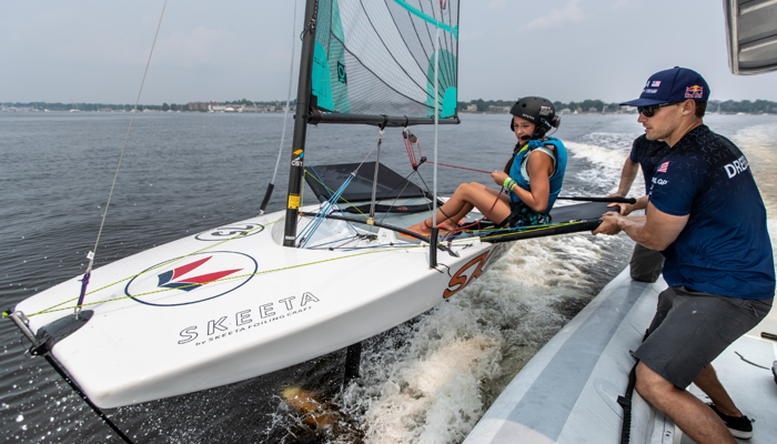 SailGP Foiling First clinic