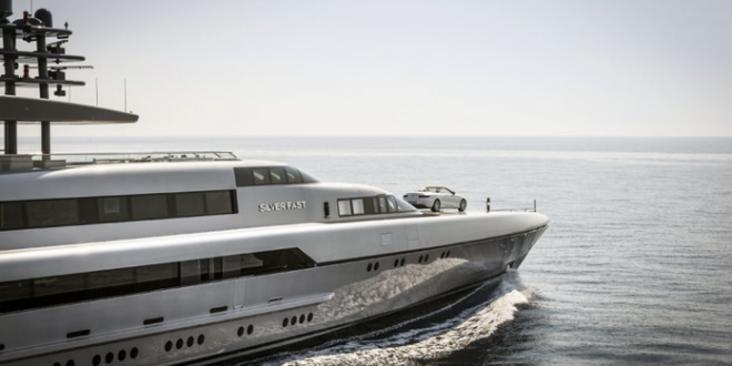 Superyacht Silver Fast Stars With New Mercedes: VIDEO