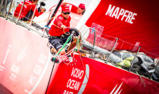 Spaniard Ñeti Cuervas-Mons is the third MAPFRE crew member to be confirmed