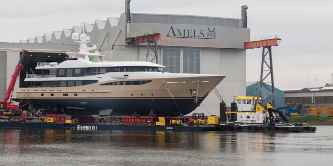 AMELS launches 55 meter LILI (180ft)