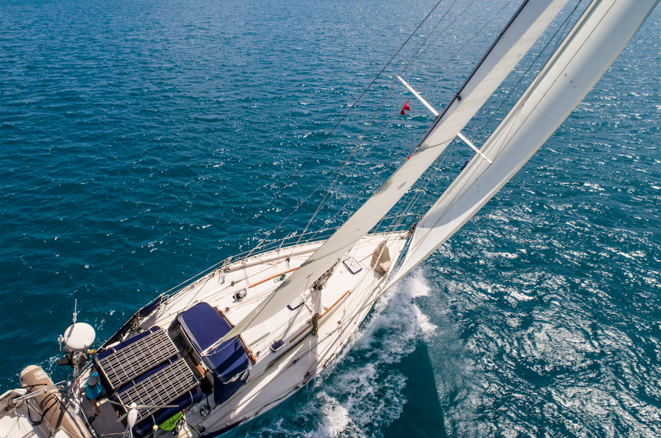 There's a new way to make cruising sails