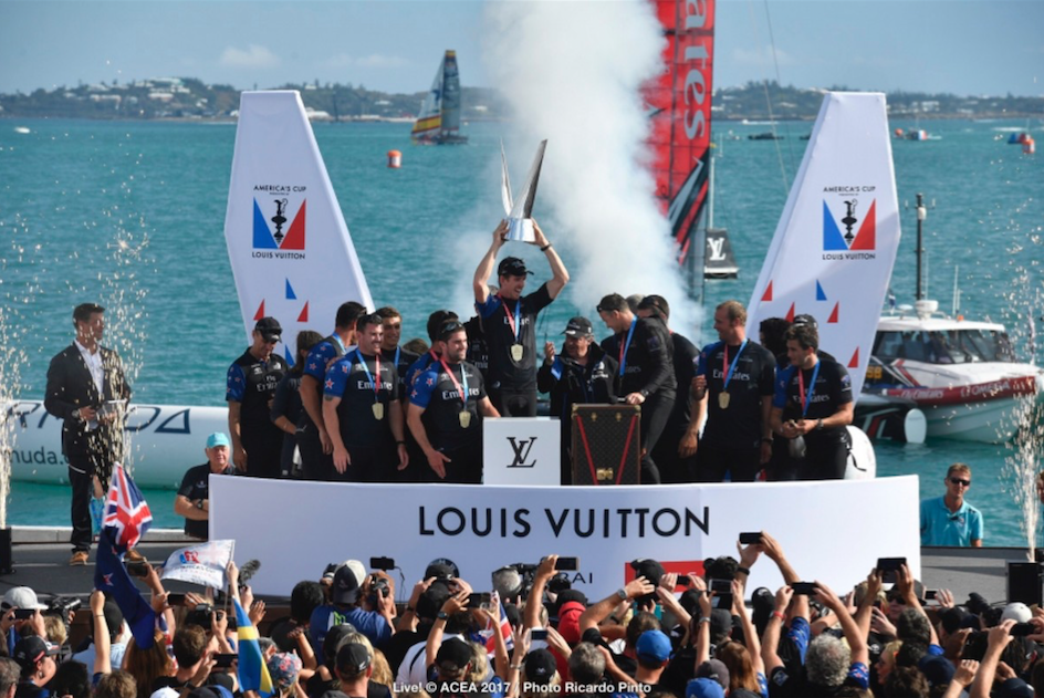 The America's Cup round up