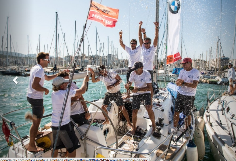 The biggest MAPFRE King's Cup crowns it's champions