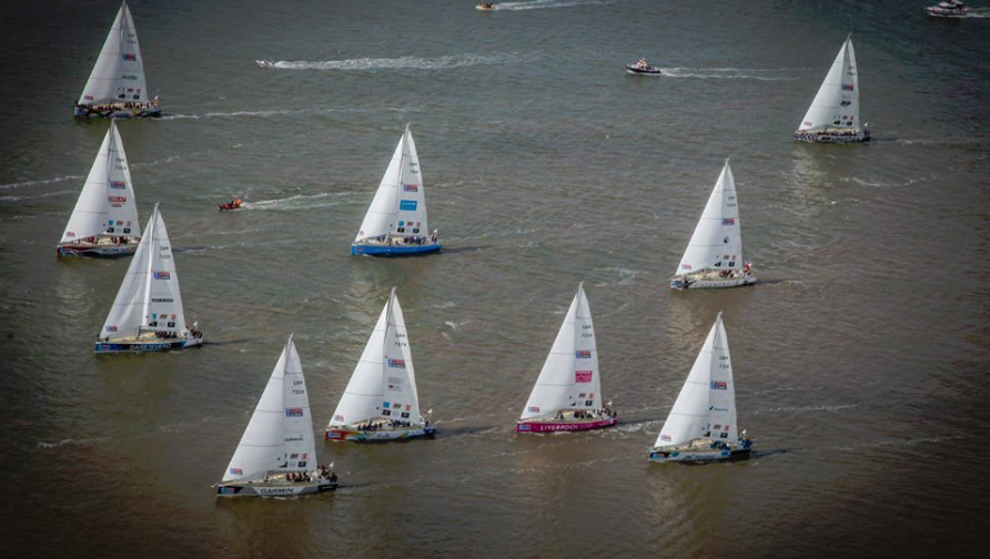 Twelve teams begin Clipper Race