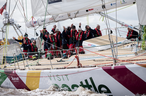 Clipper Race: Navigating the Irish Sea