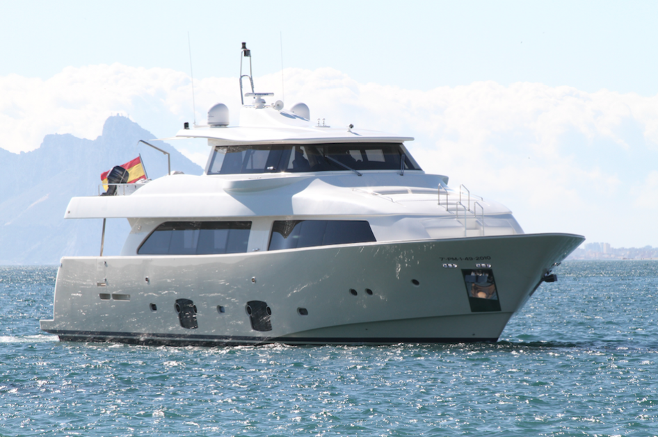 Charter Yacht of the Month – Malvasia II