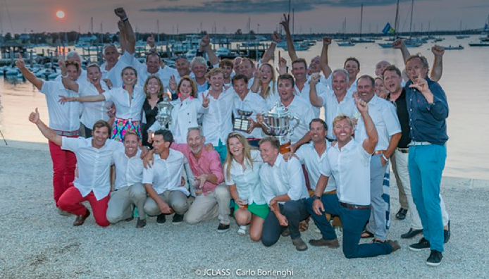 Lionheart wins the title  of J Class World Champion
