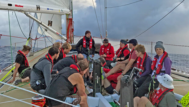 Clipper Race: Points on the board