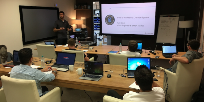 Crestron Certification Forms Part Of New ETO Training Course – The ...