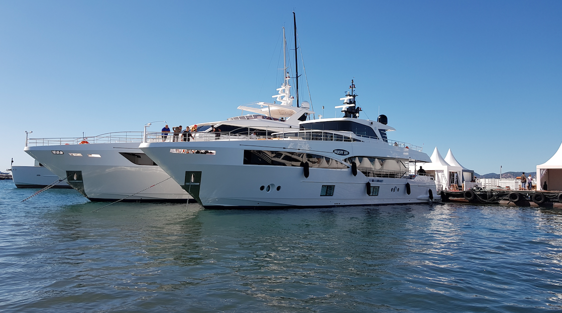 Gulf Craft Majesty 100 Makes its European Debut at the Prestigious Cannes Yachting Festival
