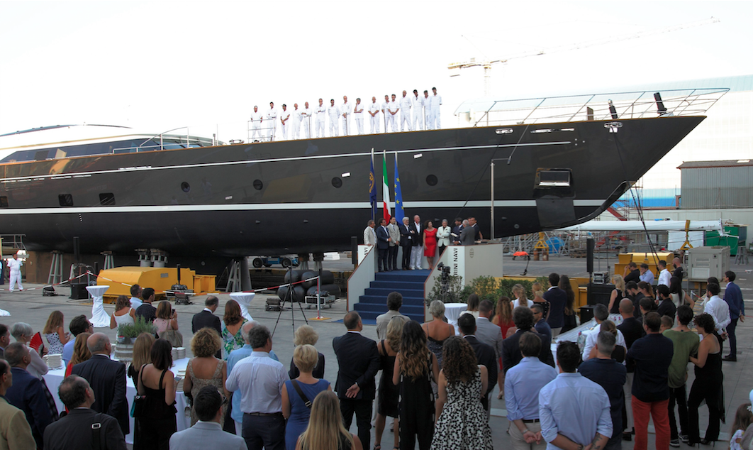 Perini Navi S/Y Seven To Make Her International Debut at Monaco Yacht Show 2017