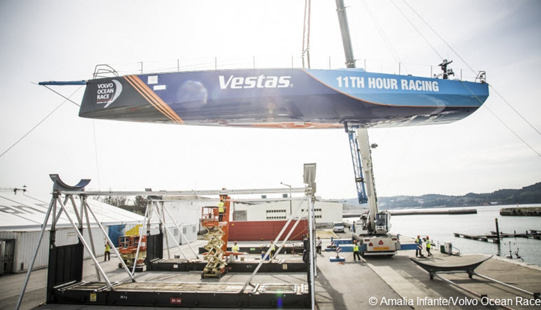 Final Preparation for Volvo Ocean Race