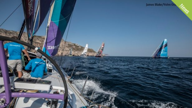 Volvo Ocean Race: Prologue is Underway