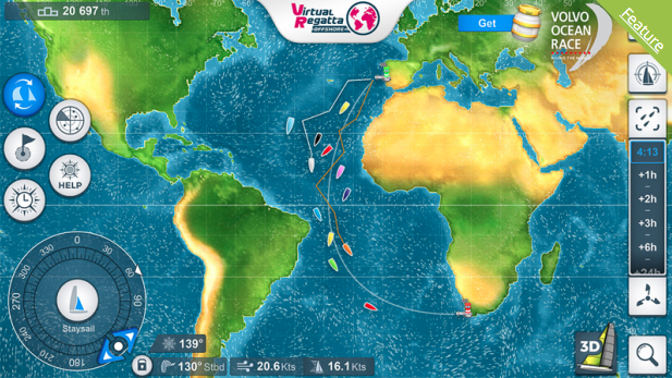 Get ready for Volvo Ocean Race Game