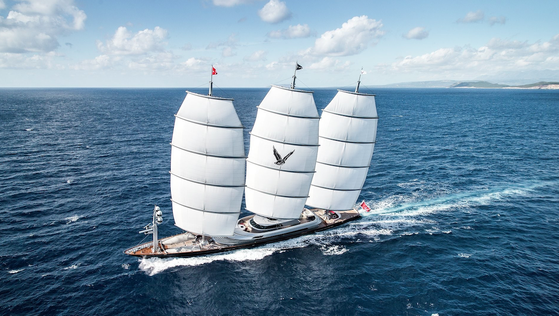Successful Sailing Trials For Maltese Falcon & e3's Kymeta
