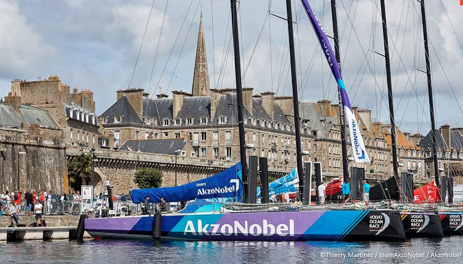 Early controversy for Volvo Ocean Race