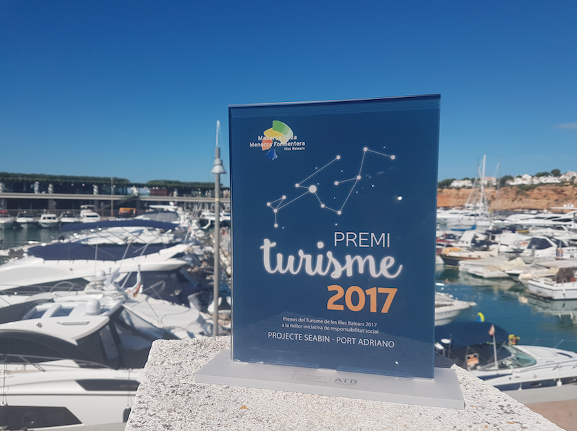 """Tourism Award Of The Balearic Islands"" Goes To Port Adriano"
