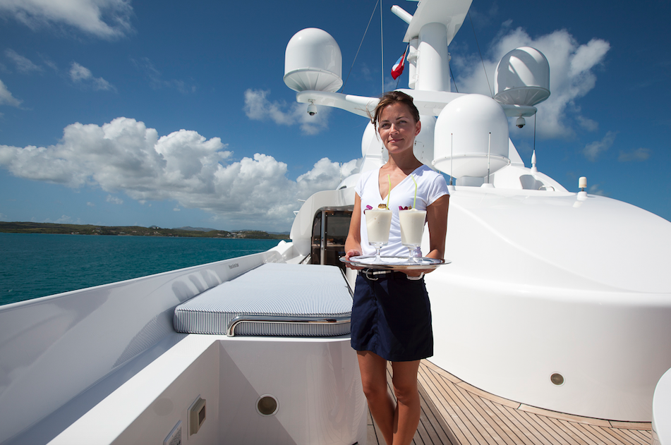PYA – Hospitality Training In The Large Commercial Yacht Sector