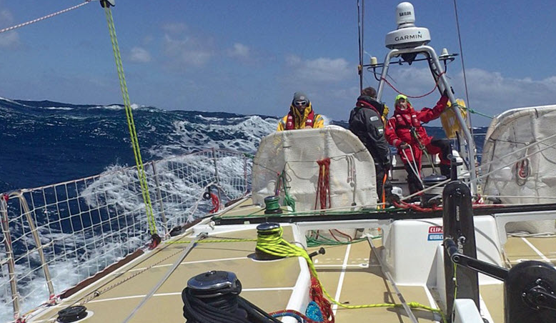 Clipper Race: A Somber Day At Sea