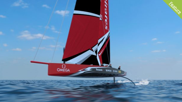Americas Cup AC75 Yacht Revealed