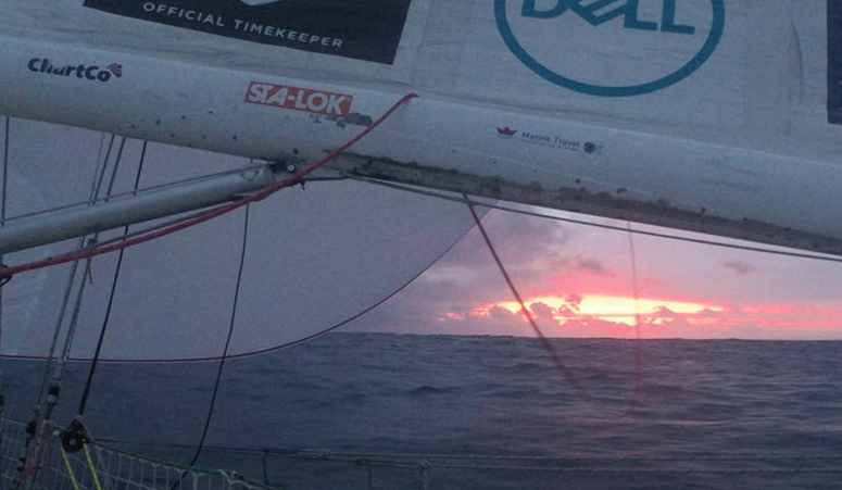 Clipper Race: Pressing On With Gratitude