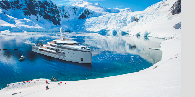 AMELS redefines beauty with smart hybrid 57.70-metre design