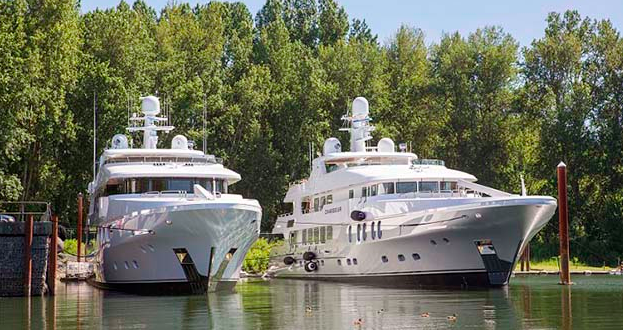 Christensen launches two 50m yachts