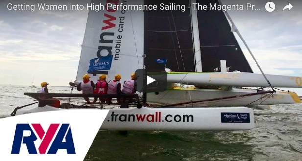 VIDEO: Magenta Project at Cowes