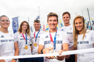 The 52nd Southampton International Boat Show kicked off ten days of festivities in style with the official ribbon cutting by members of the British Olympic Sailing Team fresh from Tokyo 2020