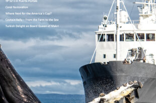 The Islander Magazine front cover October 2021