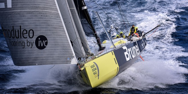 Team Brunel Sail In To Saint Lucia To Set A New Arc Course Record