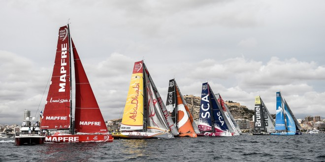 Volvo Ocean Race Rivals Line Up For New Skirmishes In Genoa