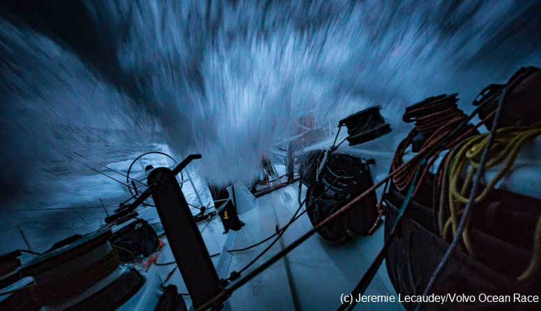 Volvo Ocean Race: This Is Going To Sting!